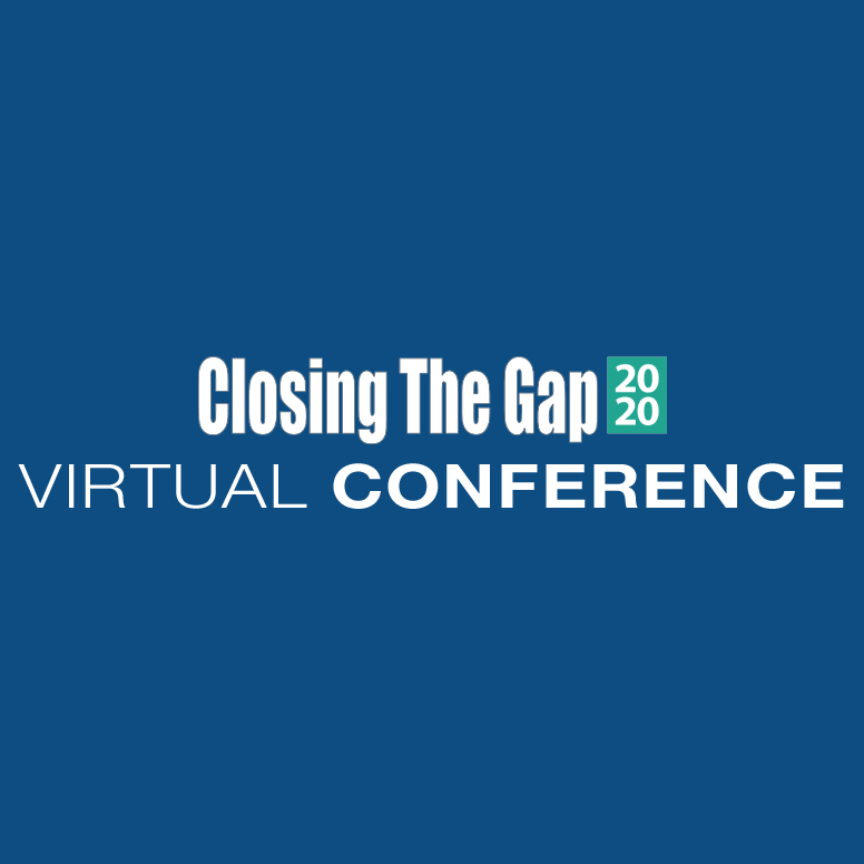 Closing The Gap 2020 Virtual Conference Logo